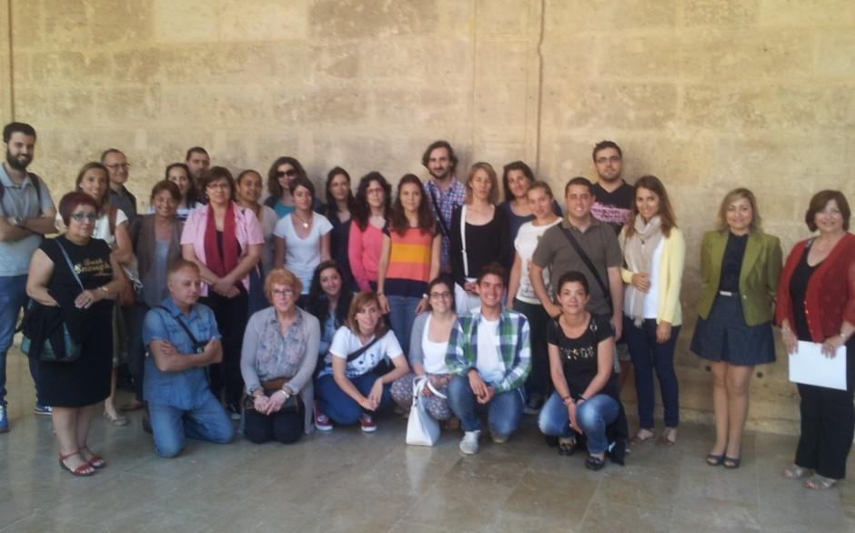 Cloenda dels Cursos de València 2013 i visita a l'AVL
