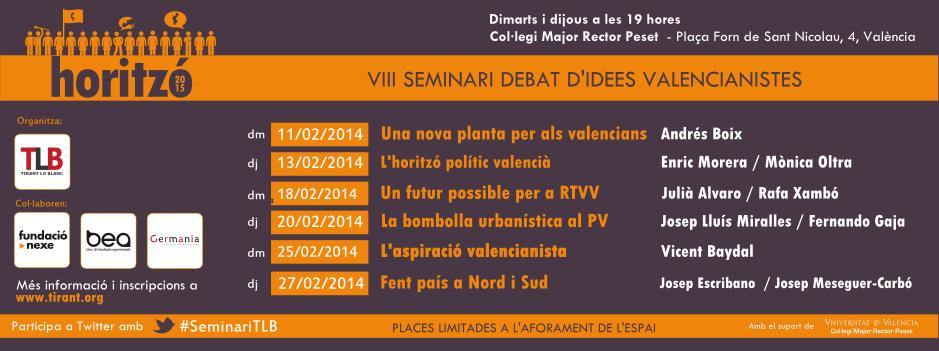 Seminari Debat d'Idees Valencianistes