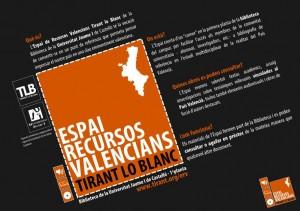 Espai de Recursos Valencians Tirant lo Blanc