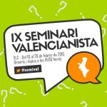 Mònica Oltra (Compromís) i Antonio Montiel (Podemos) tancaran el IX Seminari Valencianista