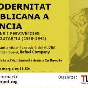"""Visita guiada a l'exposició del MuVIM """"La modernitat republicana a València"""""""
