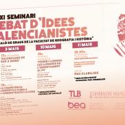 XI Seminari Debat d'Idees Valencianistes