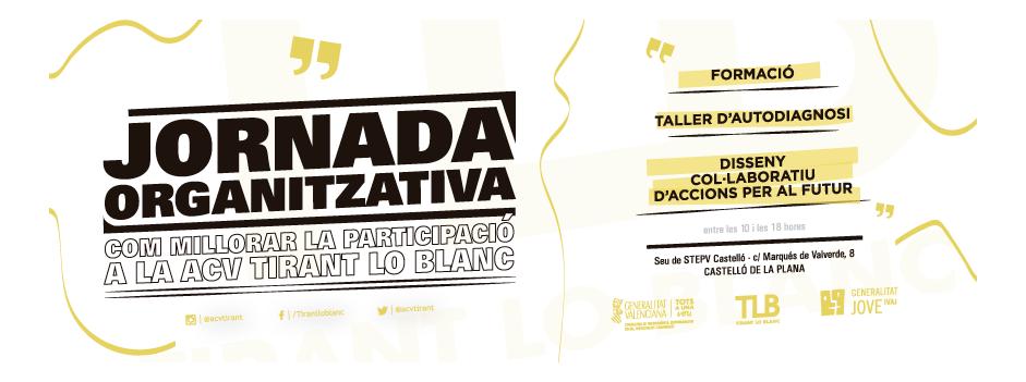 Jornada organitzativa per a fomentar la participació interna