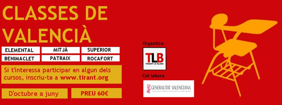 Cursos de valencià 2017/2018