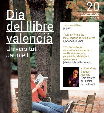 Celebració del Dia del Llibre Valencià a la UJI