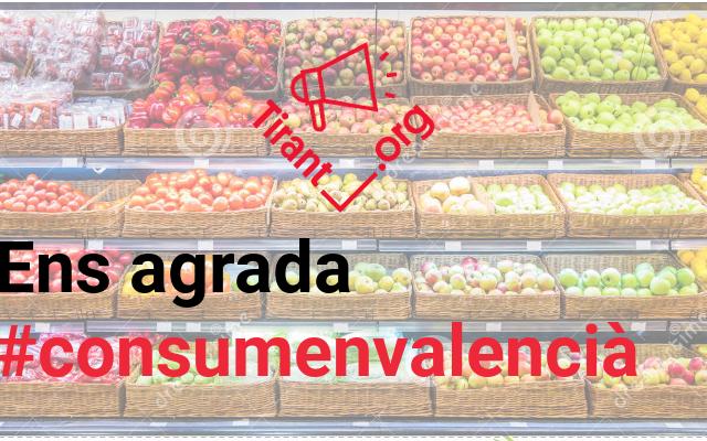 Volem que Consum torne a etiquetar en valencià