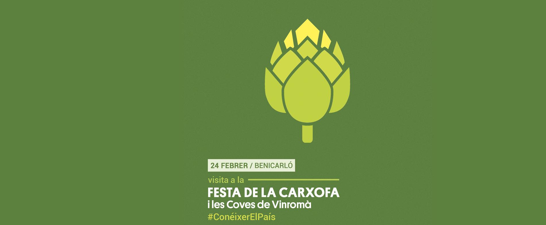 Visita a la Festa de la Carxofa i les trinxeres de les Conves de Vinromà