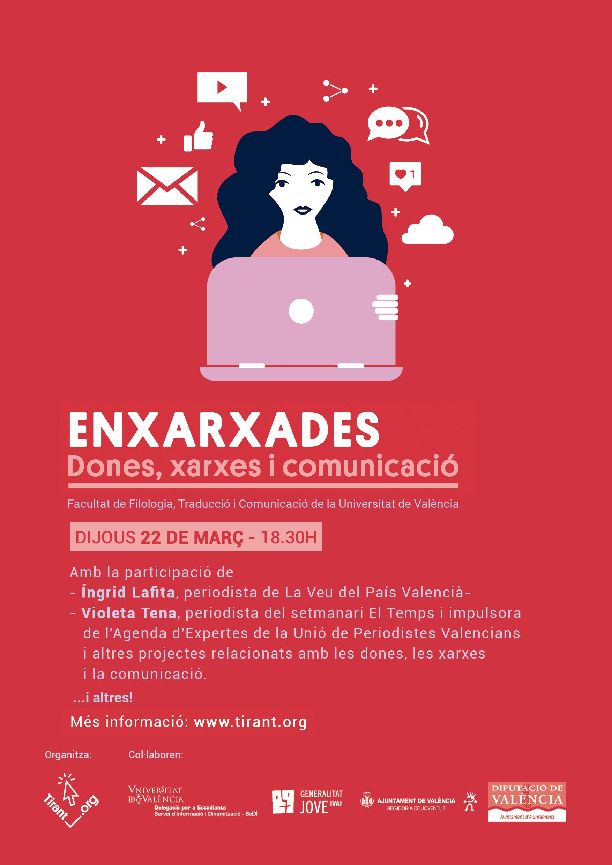 Enxarxades: debat sobre dones, xarxes i comunicació