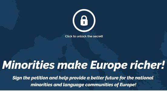 Minority SafePack: Iniciativa ciutadana europea a favor de la diversitat i els drets de les minories a Europa