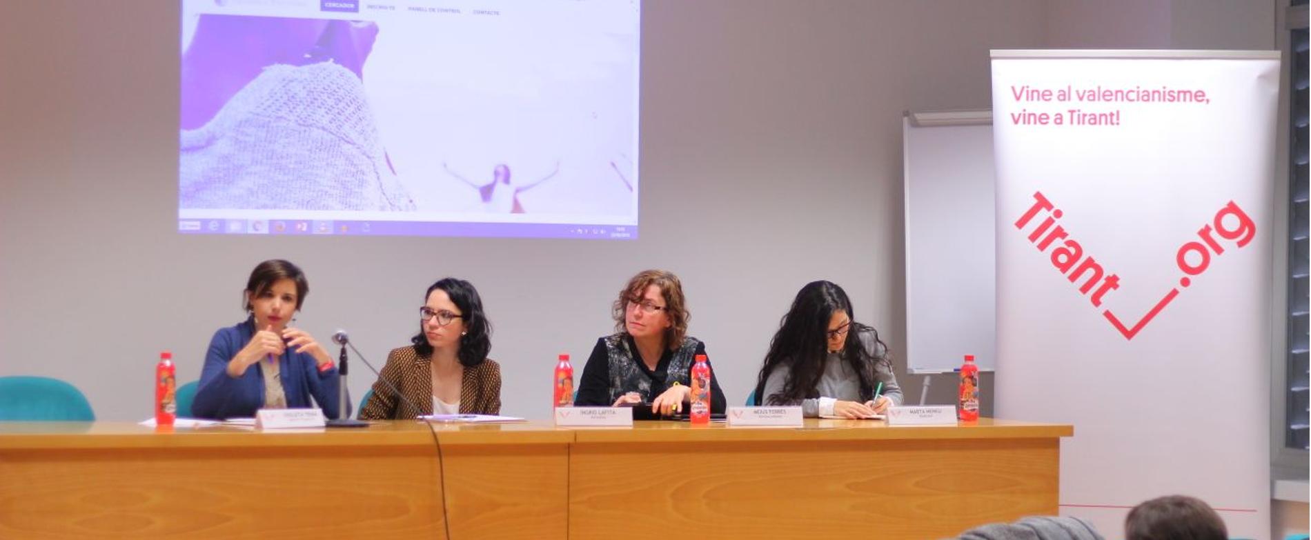 El Tirant debat sobre la presència i visibilitat de les dones als mitjans de comunicació i les xarxes socials