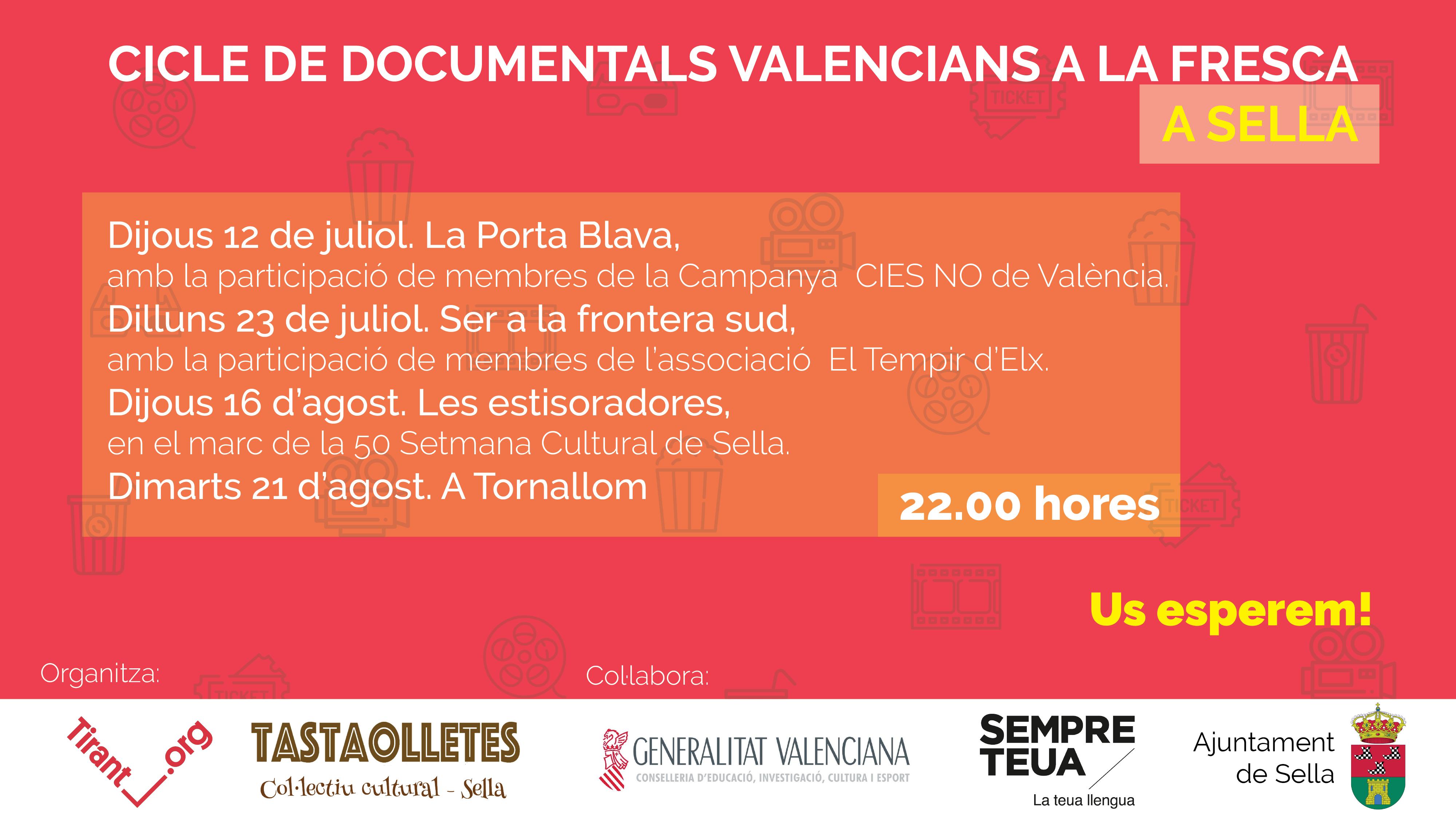 Cicle d'audiovisuals valencians a Sella