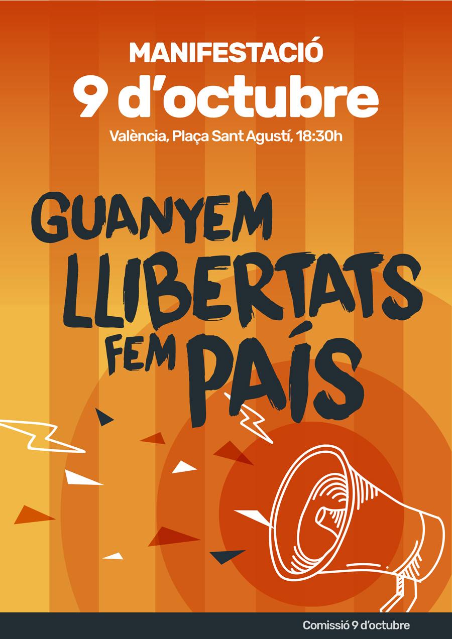 9 d'Octubre. Guanyem llibertats, fem país