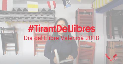 #TirantDeLlibres, Dia del Llibre Valencià